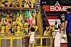 Ett nöjesfält på La Manga (Murcia) 197 Royaltyfria Bilder