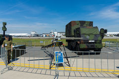 Ett obemannat flyg- medel EMT Luna X-2000 Arkivfoton