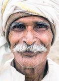 Ett oidentifierat hinduiskt Arkivfoton
