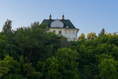 Ett ovanligt ovanligt hus Arkivfoton