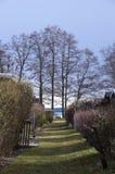 Ett pahtway till sjön Royaltyfri Foto