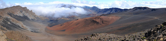 Toppmöte av HaleakalÄ Royaltyfria Bilder