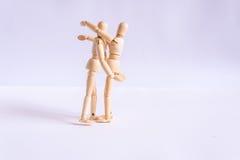 Ett par som kramar varje vektormapp för other Arkivfoto
