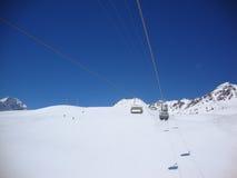 Ett perfekt skidar dagen Royaltyfri Foto