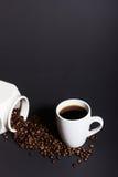 Ett perfekt svart kaffe Royaltyfri Foto