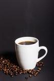Ett perfekt svart kaffe Royaltyfri Fotografi