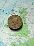 ett pund Arkivbild