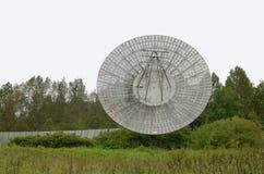 Ett radioteleskop i Observatorio Royaltyfri Fotografi