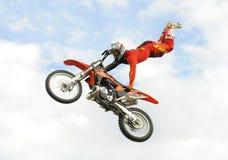 Moto x luftar Fotografering för Bildbyråer
