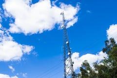 Ett signaltorn Arkivbild