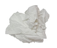 Ett pappers- silkespapper Royaltyfria Foton