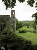 Ett slotttorn - Irland Arkivbilder