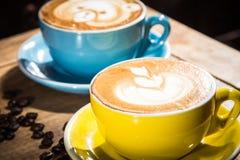 Ett smakligt kokkonstfoto av kaffe Royaltyfria Foton