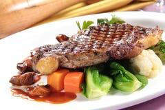Ett smakligt kokkonstfoto av nötköttbiff Royaltyfri Foto