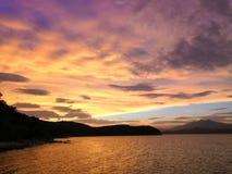 Ett ställe i Hong Kong Sea, kulle och vatten royaltyfri foto