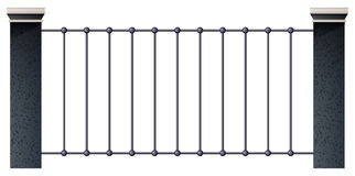 Ett staket Royaltyfri Foto