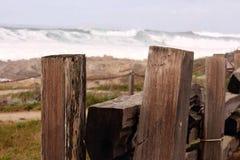 Ett staket arkivfoto