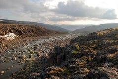 Ett stenigt landskap royaltyfri bild