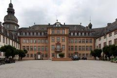Ett stort hus i Tyskland Arkivfoton