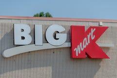 Ett stort tecken för K Kmart royaltyfria foton