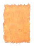 Ett stycke av bekymrat papper royaltyfri bild