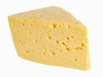 Ett stycke av ost Arkivbild
