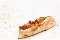 Ett stycke av pizza Arkivfoto