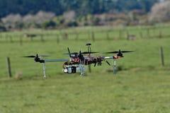 Ett surr eller en UAV Royaltyfria Foton