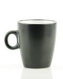 Svart kaffe kuper Royaltyfria Bilder