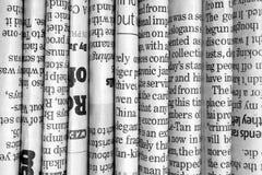 Ro av tidningar Arkivbild