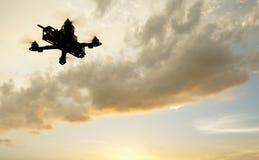 Ett tävlings- surr som högt flyger Arkivbild