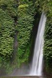 Ett tillfångatagande av en vattenfall - Bali, Indonesien. Arkivbild