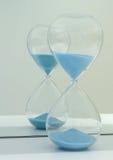 Ett timglas Arkivbild
