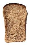 Ett torkat stycke av vitt bröd Arkivbilder