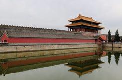 Ett torn av den imperialistiska slotten Royaltyfri Fotografi