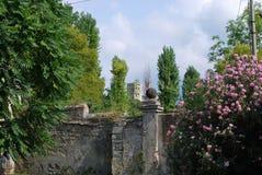 Ett torn i avståndet Royaltyfri Fotografi
