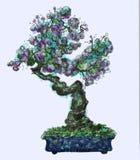 Ett träd i en bunke Royaltyfri Bild