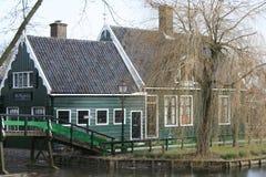 Zaanse Schans by Royaltyfri Foto