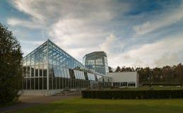 Ett växthus på en solig dag Royaltyfri Fotografi
