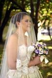 Ett vårbröllop Royaltyfri Foto