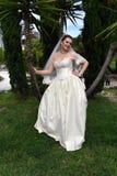 Ett vårbröllop Fotografering för Bildbyråer