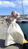 Ett vårbröllop Royaltyfri Fotografi
