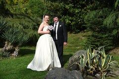 Ett vårbröllop Royaltyfria Bilder