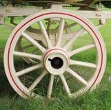 Ett vagnhjul Arkivbilder