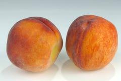 Ett val av ny peaches_2 Arkivfoto