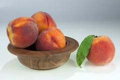 Ett val av ny peaches_3 Royaltyfria Foton