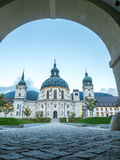 Ettal Abbey, exterior architecture Royalty Free Stock Photo