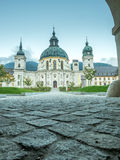Ettal Abbey, exterior architecture Royalty Free Stock Images