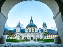 Ettal Abbey, exterior architecture Royalty Free Stock Image