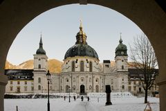 The Ettal Abbey Royalty Free Stock Photo
